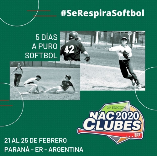 Nacional de Clubes de Softbol 2020 Pedro Alcain